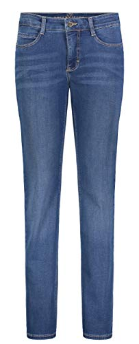 MAC Jeans Dream Jeans, Mid Blue Authentic Wash, 40 W/30 L para Mujer
