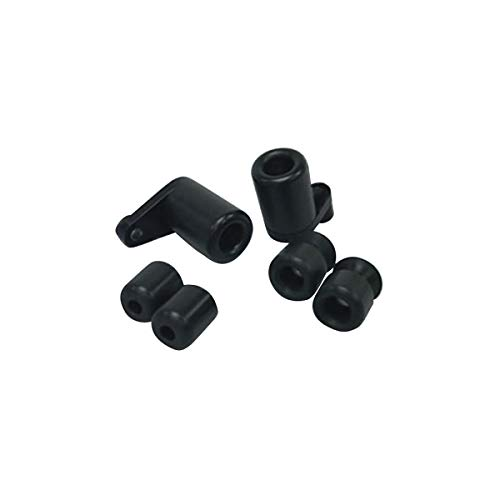 Shogun Suzuki GSXR1000 GSXR 1000 2012 2013 2014 2015 2016 Black Complete Frame Slider Kit Includes Frame Sliders Swing Arm Spools and Bar Ends Fits ABS & NON ABS Models - 755-5359 - MADE IN THE USA
