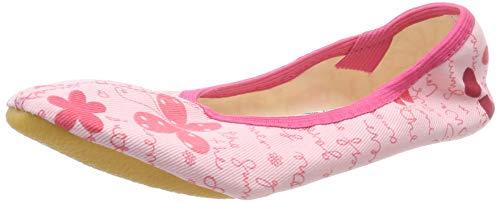 Beck Mädchen Butterfly Gymnastikschuhe, Pink (Rosa 03), 24 EU