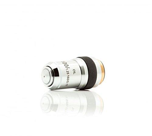 LW Scientific Student Microscope 100xR DIN Achromatic Oil Objective, EDO-100X-DAOL