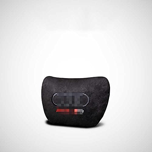 ASHDelk Supporto Lombare dello Schienale del Cuscino del Collo del poggiatesta del Sedile dell'auto, Adatto per Audi RS5 RS6 RS7 2018-2021