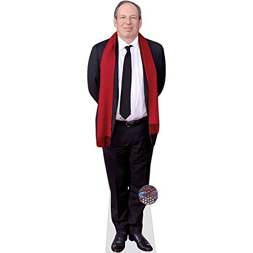Celebrity Cutouts Hans Zimmer (Red Scarf) Pappaufsteller Mini