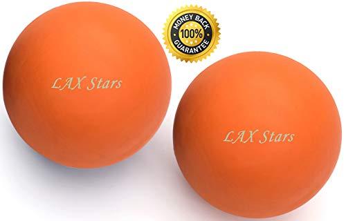 Lacrosse Balls Massage Ball Therapy – Myofascial Tension Release, Fascia Release, Massage Balls f…