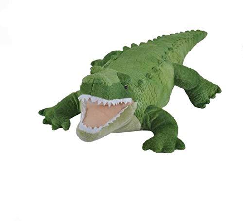 Wild Republic Plüsch Alligator, Krokodil, Cuddlekins Kuscheltier, Plüschtier, 40cm