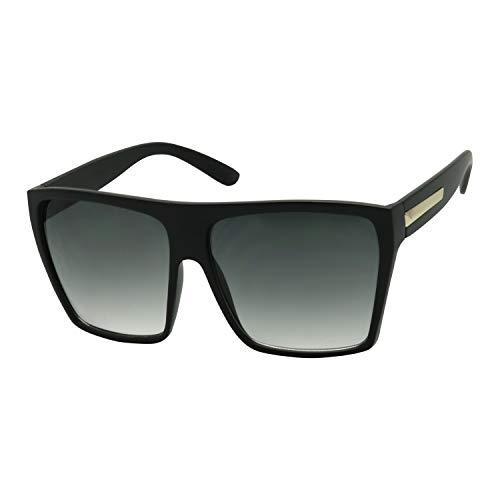 Basik Eyewear - Big XL Large Square Trapezoid Shaped Frame Oversized...