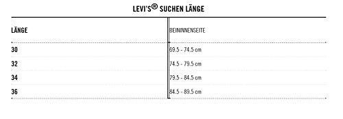 Levi's Mens 501 Straight Jeans Blue Size 34 Length 32 (Us)