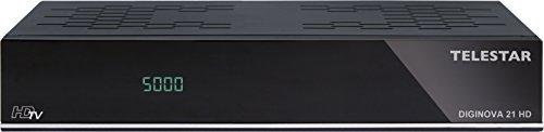 Telestar Diginova 21 HD SAT-Receiver (DVB-S2, Web Radio,5310515 PVR Ready, HDMI, USB, LAN) schwarz