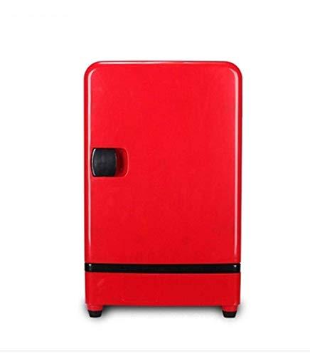 DKBE Refrigerador del coche 20L/Refrigeración dual puede controlar pantalla digital/hogar y coche de doble uso (220v/12v)/refrigerador de cosméticos dormitorio