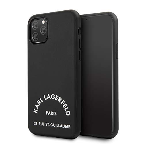 Karl Lagerfeld KLHCN58NYBK Rue St Gullaume Cover for iPhone 11 Pro, Black