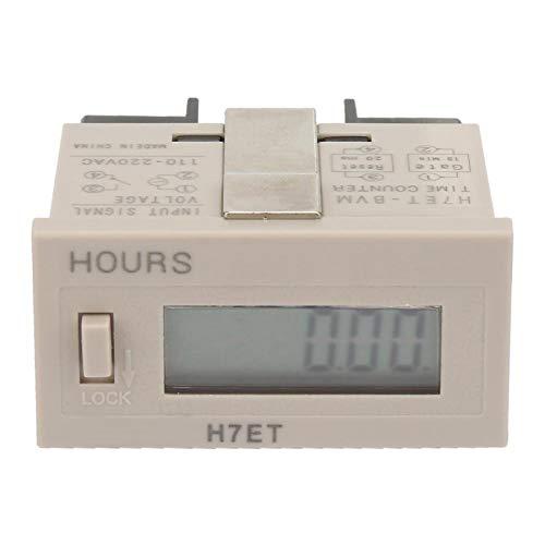 Acumulador eléctrico digital AC 220V para monitoreo inteligente(0.00. minutes)