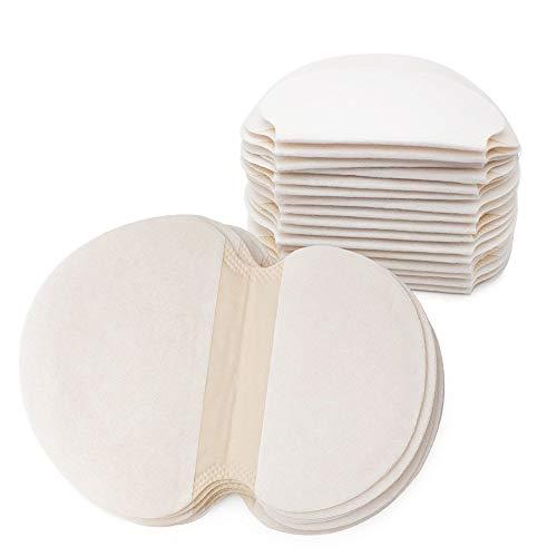 Gospire 50 pcs (25 Pair) Disposable Underarm Pads Armpit Sweat Pads...