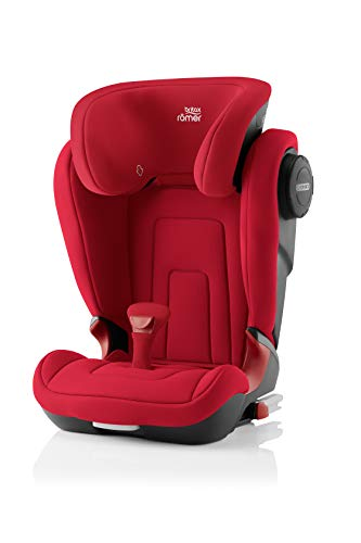 Britax Römer Kindersitz 3,5 - 12 Jahre I 15 - 36 kg I KIDFIX 2 S Autositz Gruppe 2/3 I Fire Red