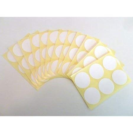 Bureau Fournitures Scolaires Rond Paquet étiquette Blanc Stickers Auto Adhésif Collant