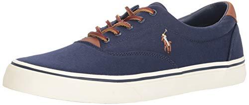 Polo Ralph Lauren mens Thorton Sneaker, Navy, 10.5 US