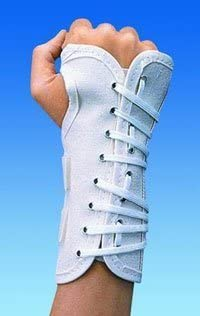 79 87343 Splint Wrist Canvas Cock Up Small Right 6 White Part 79 87343 by DJO Inc Qty of 1 Unit product image