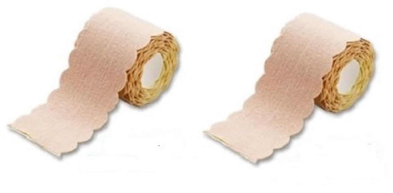 財政半導体なす汗取りパッド ワキに直接貼る汗とりシート ロールタイプ 3m 2個セット(たっぷり6m 特別お得セット) 直接貼るからズレない?汗シート!脇汗ジミ わき汗 対策