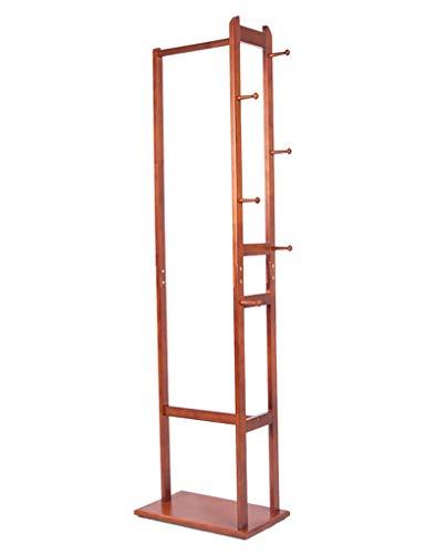 Perchero de Madera Maciza Perchero de Aterrizaje Perchero Creativo Salón Vertical Perchas para Dormitorio Perchas para Colgar Bolsas, BOSS LV