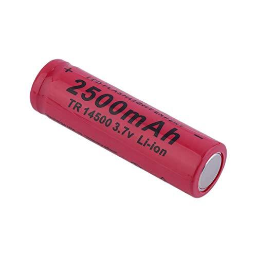 HTRN Batería De 3.7v 2500mah 14500, Batería PortáTil De La Linterna De La Batería Recargable 1PCS