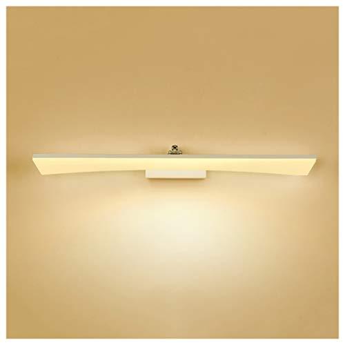 Led badkamer spiegel licht dressoir lamp moderne minimalistische muur lamp waterdichte mist weinig (kleur: warm licht)
