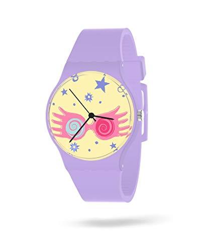 Reloj Mujer Harry Potter | Relojes Mujer Pulsera | Reloj Analógico Mujer| Reloj de Mujer Correa Silicona | Relojes para Mujer Resistentes al Agua | Reloj Harry Potter