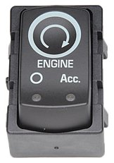 ACDelco D1436G GM Original Equipment Ebony Ignition Start/Stop Switch