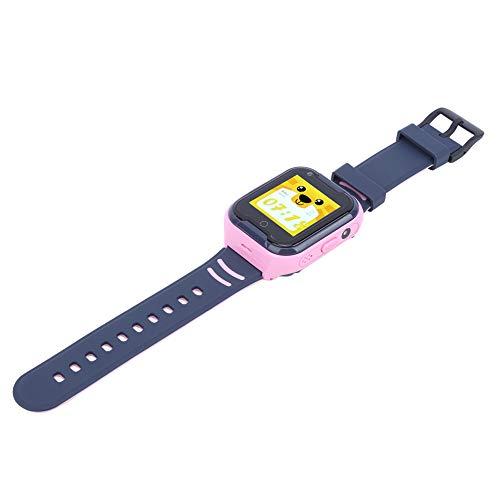Reloj Inteligente para Niños 4G Reloj para Niños A Prueba De Agua Videollamada WiFi Reloj con Pantalla Táctil Versiones para Europa Y América