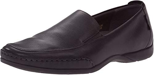 Mephisto mens Edlef Slip On Loafer, Black Smooth, 10 US