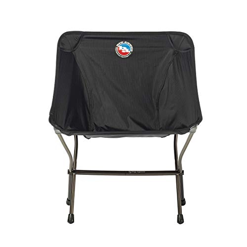 Big Agnes Skyline Ultralight Backpacking Chair for Fast and Light Adventures, Black Camp Furniture, One Size