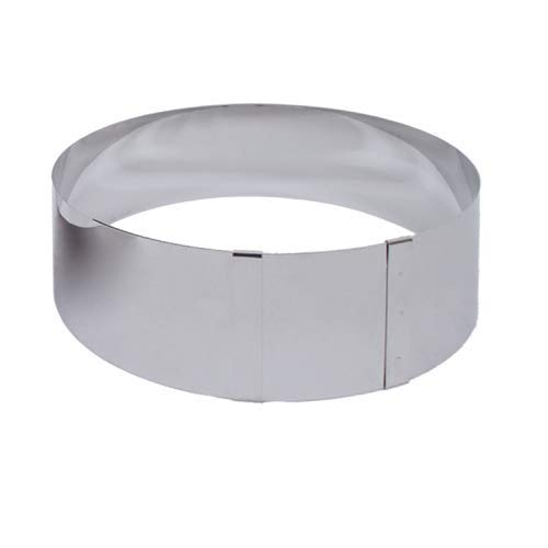 Chevalier diffusion - cercle a patisserie inox reglable 18 a 30 cm