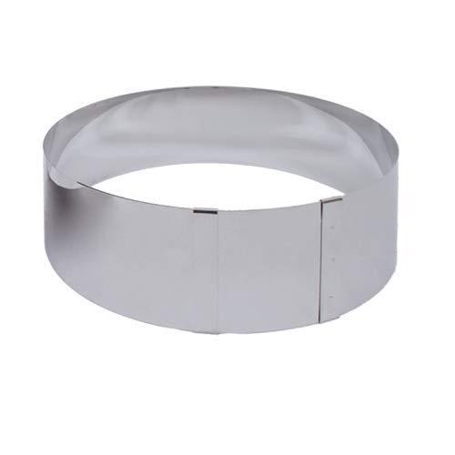 Beka 14300174 Cercle à tarte et entremets hauteur 6 cm