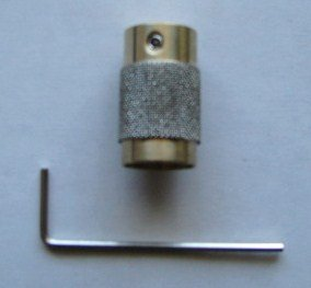 """3/4"""" Diamond Stained Glass Grinder Head Bit Quality Brass Core"""