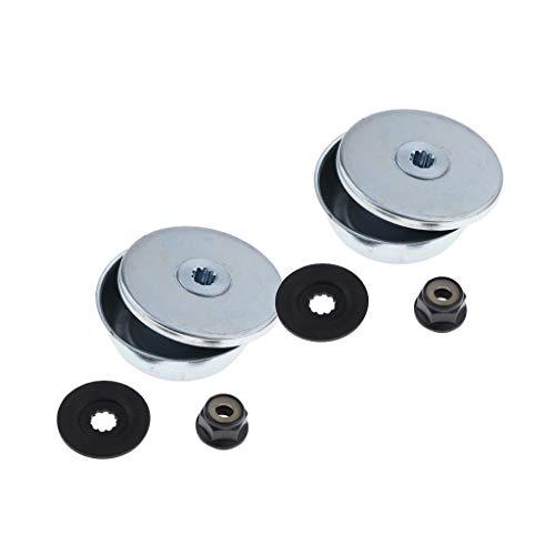 2 Packungen 4 In 1 Bundmutter Rider Druckscheibe Druckscheibe Schutzscheibe, Ersatz Für STIHL FS120 Fadentrimmer