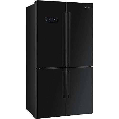 Smeg Kühlschrank Side by Side FQ60N2PE1 schwarz 90 cm