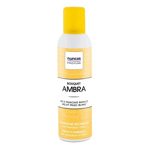 Profumatore per ambiente spray bouquet ambra