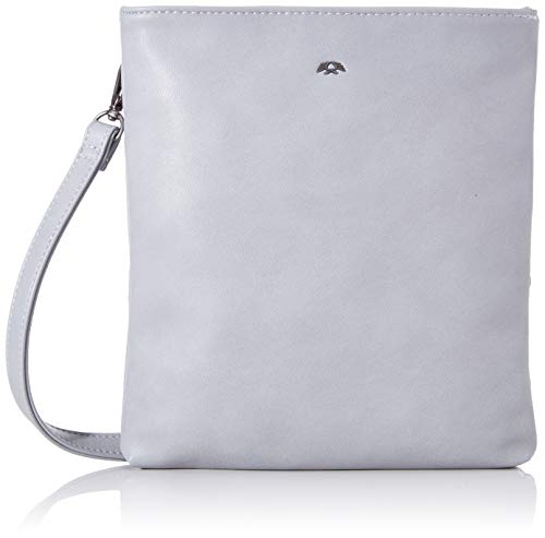Fritzi aus Preussen Damen Ronja Small Clutch, Grau (Light Wave), 2.5x23x11.5 cm