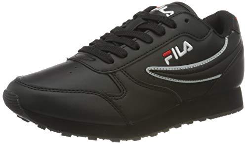 FILA Orbit, Zapatillas Mujer, Negro (Black), 39 EU