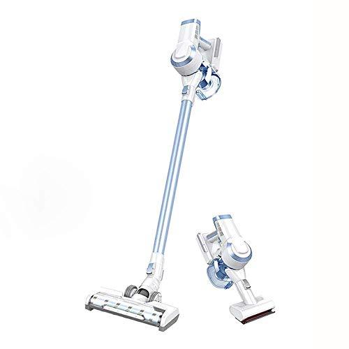 ZLININ Aspirador inalámbrico de mano, potente limpieza, peso ligero, batería de litio recargable, para suelos duros, alfombras, pelo de mascotas/coche