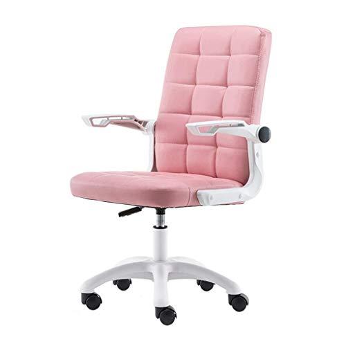 Llslls Sedia da ufficio , Sedia da scrivania for computer, Sedia da lavoro girevole con braccioli Sedia da ufficio con schienale alto Sedia regolabile in pelle PU ergonomica , Sedia da lavoro girevole