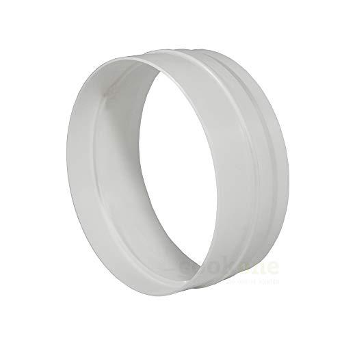 EASYTEC® Innenverbinder Ø 149 mm für Ø 150 mm Rohre und Schläuche | Rohrverbinder Schlauchverbinder Verbindungsstück 150mm