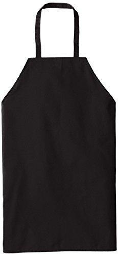 Chef Designs Standard Bib Apron, Black, 30x33