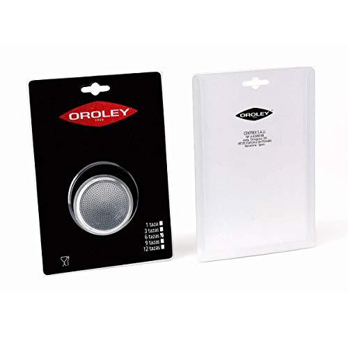 Oroley - Recambio Filtro Cafetera de Aluminio, 9 Tazas