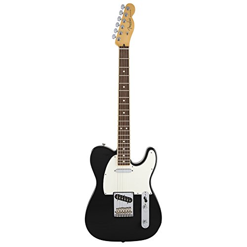 Fender American Standard Telecaster Channel Bound Black Limited Edition Electric...