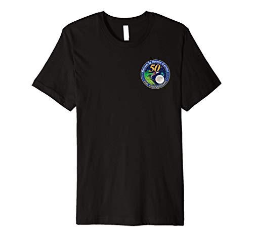 NASA Kennedy Space Center 50th Anniversary Premium T-Shirt