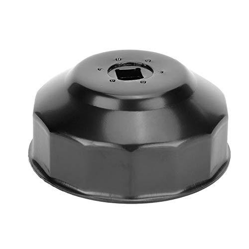 Herramienta para llave de filtro de aceite, llave de tubo de acero pequeña para filtro de aceite, industria automotriz estable de alta dureza compatible con 2 3 motores