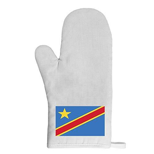 Mygoodprice Ofenhandschuh Flagge Republik Kongo