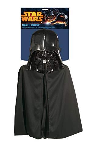 Star wars 1198 - Kinderkostümset Darth Vader, Maske und Umhang, Universalgröße