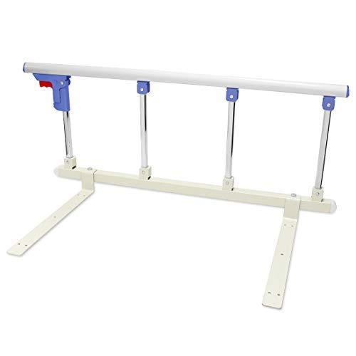 Bed Rail Safety Side Guard - Assist Handle Handicap Bed Railing - Folding Hospital Bedside for Elderly, Seniors, Adults