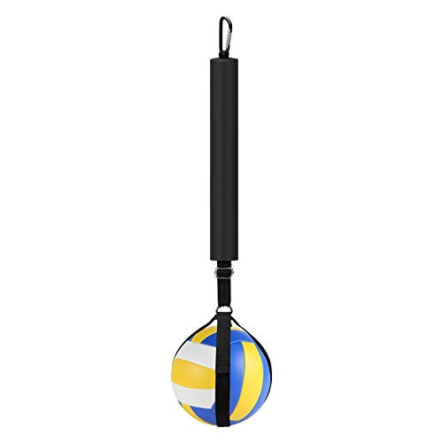 Wiwaplex Volleyball Spike Trainer, Volleyball Spike Training System, Volleyball Equipment Training Improves Serving, Jumping and Arm Swing Mechanics and Spiking Power