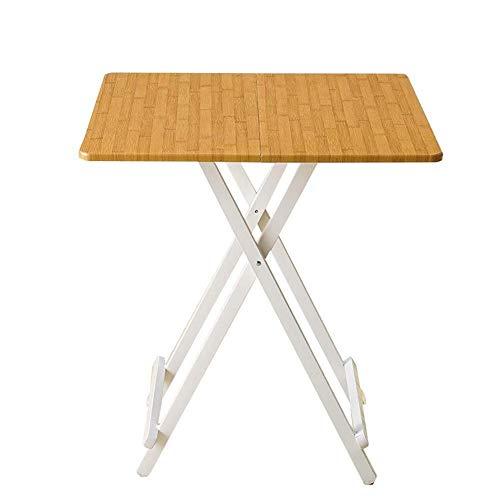 Klaptafel tuintafel eettafel waterdicht hout Desk Top voor kinderen, Home Keukencomputertafel Gastronomie Werkbladen (grootte: 78x78x75cm) 68x68x75cm