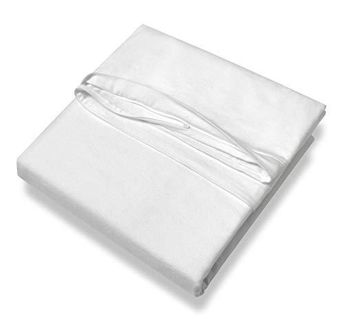 SETEX Antiallergen Schutzbezug für Oberbett, 135 x 200 cm, 100% Baumwolle, Weiß, Protect & Care, 14AG135200751002